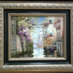 Венеция гондолы мостик глицинии