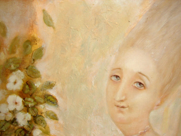 картина маслом фрагмент