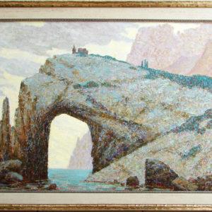 Крым море скалы