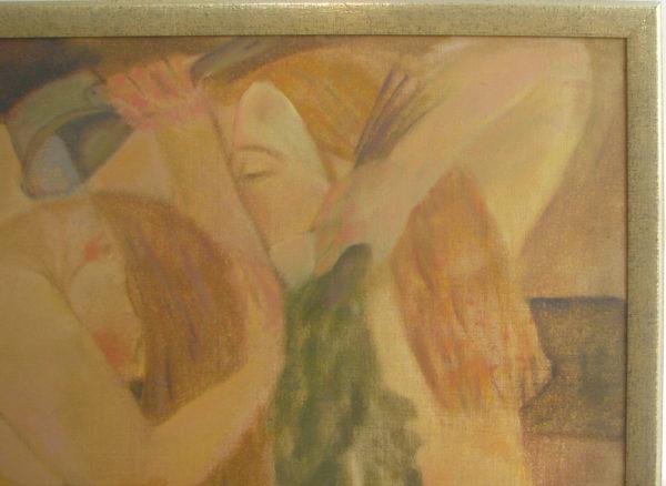 Фрагмент картины банька