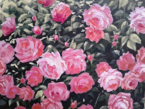 Розы фрагмент