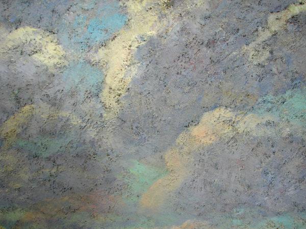 Фрагмент картины На земле детства