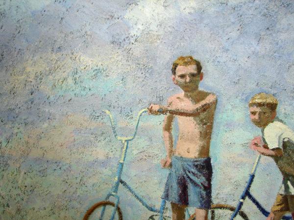Фрагмент картины И. Панова На земле детства