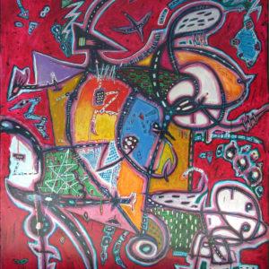 картина абстракция синтезис