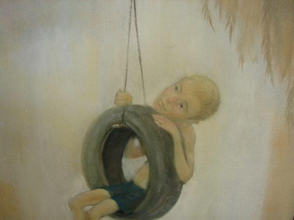 Фрагмент картины слушая тишину