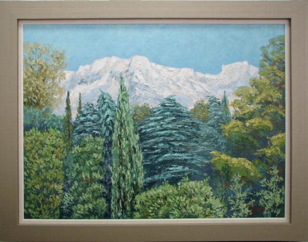 Картина маслом Ай-Петри