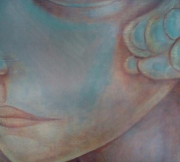 Фрагмент картины каменный цветок