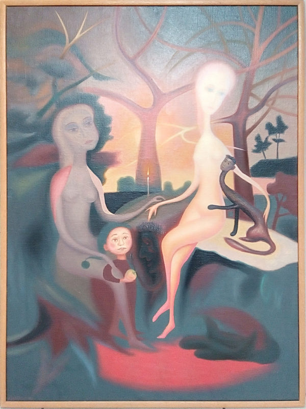 Картина маслом на холсте магия любви