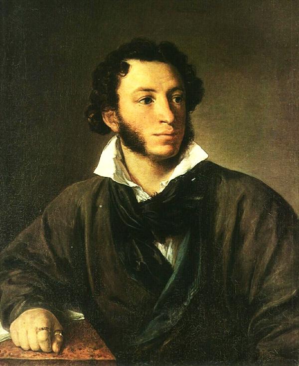 А. С. Пушкин Тропинин портрет