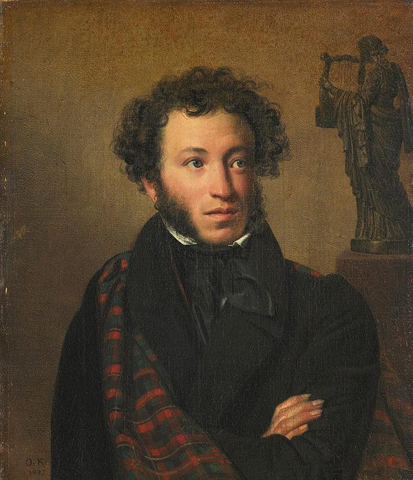 Пушкин Кипренский портрет 19 в.