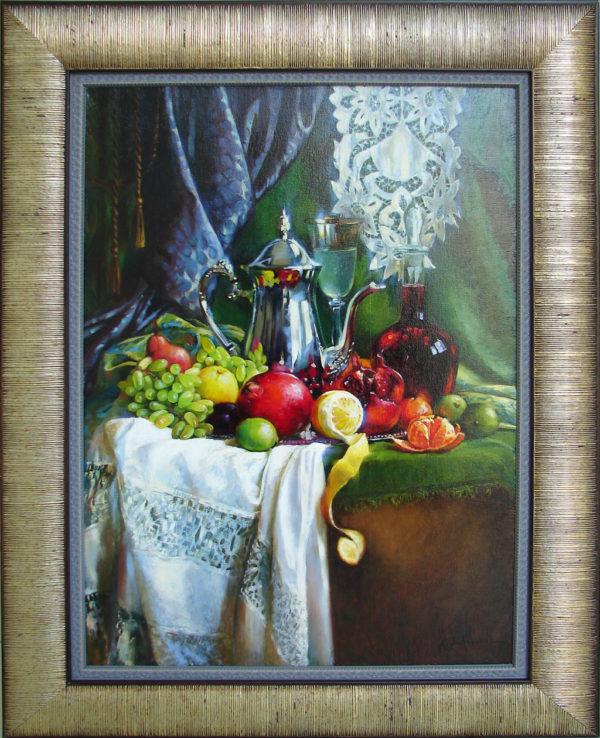 Картина маслом натюрморт Тольятти
