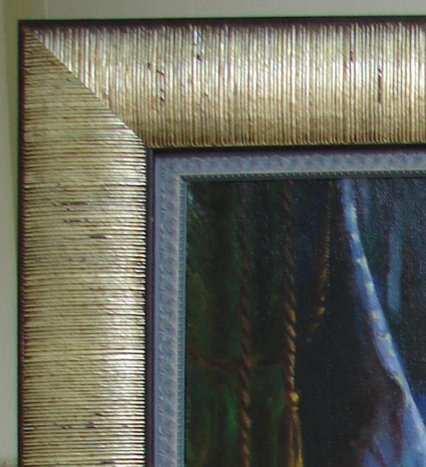 Картина маслом в раме
