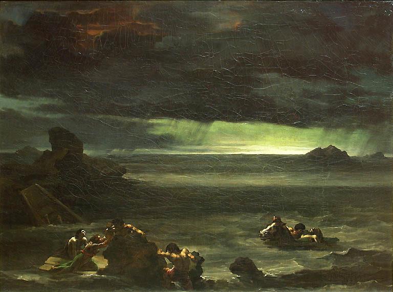 спасение после потопа картина