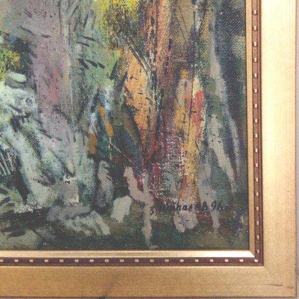 Фрагмент картины с багетом в Тольятти