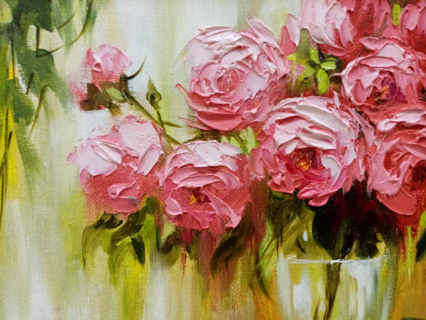 Фрагмент картины розы