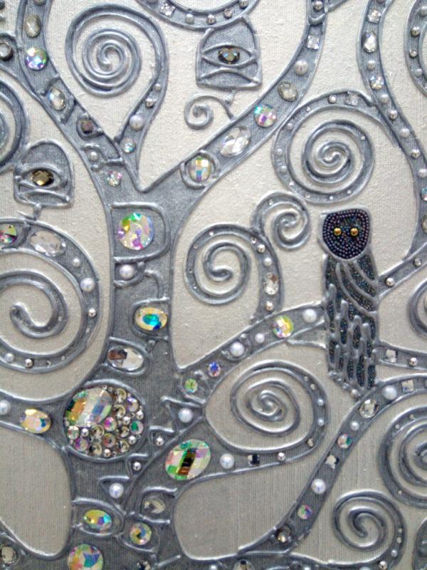 Фрагмент декоративного панно