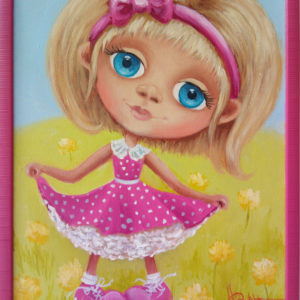 Картина маслом для детской комнаты