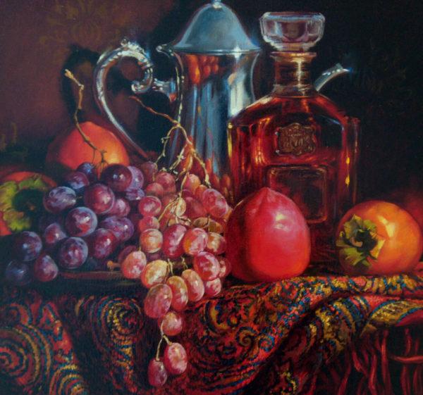 Картина холст масло Тольятти