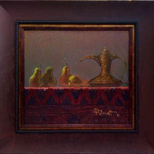 Картина маслом восточный