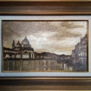 Картина маслом пейзаж Венеция