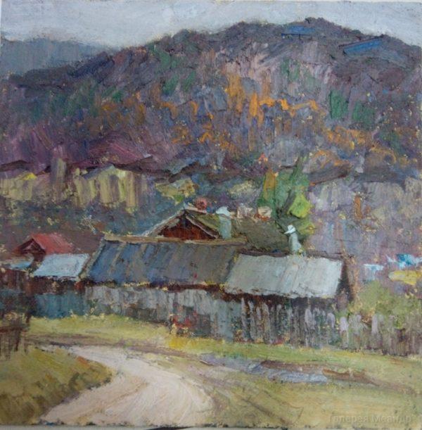 Живопись маслом пейзаж Ширяево