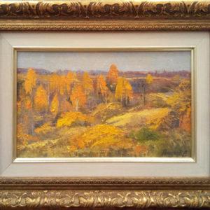 Картина на холсте Осенние холмы
