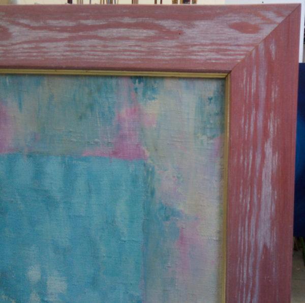 Рама на картине деревянная