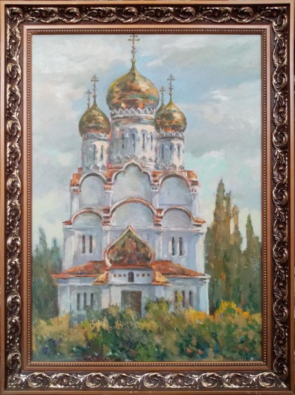 Картина маслом Храм