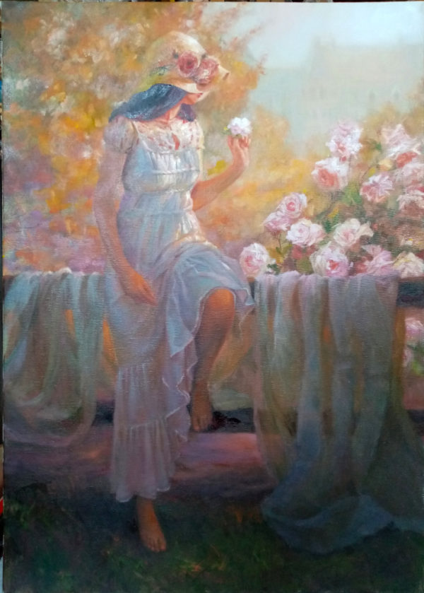 Картина на холсте романтизм