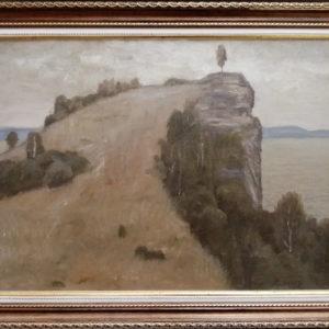Волжский пейзаж картина маслом Тольятти