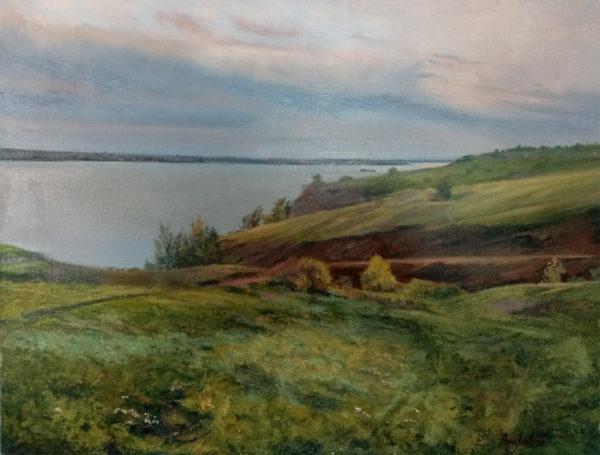 Картина масляными красками на холсте