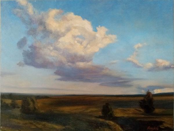 Картина на холсте масляными красками